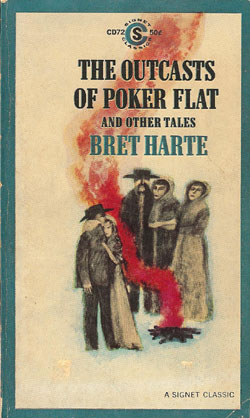 "an analysis of the story of outcast of poker flat by bret harte Analysis of the outcasts of poker flat by john oakhurst john oakhurst is the main character in ""the outcasts of poker flat"" john is an outstanding person and has some phenomenal traits."